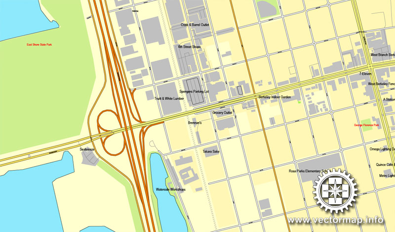 Urban plan Oakland Berkeley California ai