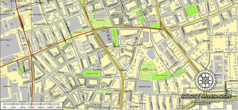 City map Nuremberg Germany pdf