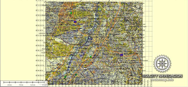 Street map Karlsruhe Germany pdf