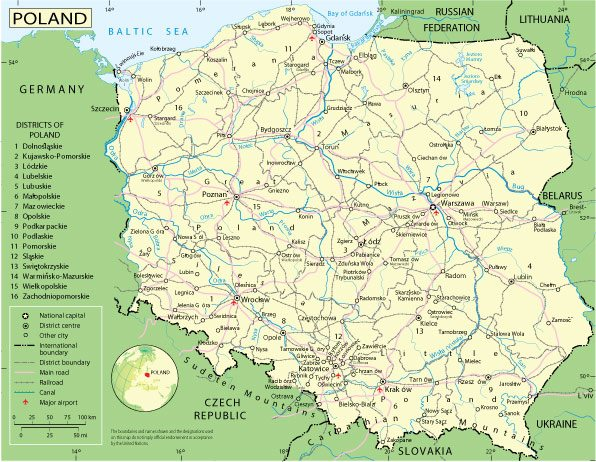 Free download vector map Poland, Adobe Illustrator, download now >>>>> Map for design, projects, presentation free to use as you like.