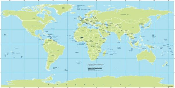 Free vector map World Mercator Projection, Adobe Illustrator, download now maps vector clipart >>>>> Map for design, projects, presentation free to use as you like.