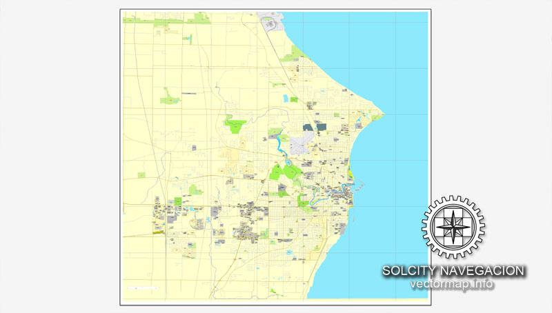 Pdf map Wind Point Wisconsin