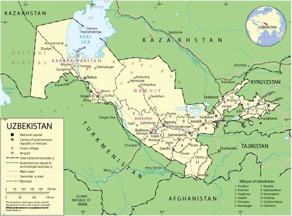 Free vector map Uzbekistan, Adobe Illustrator, download now maps vector clipart >>>>> Map for design, projects, presentation free to use as you need.