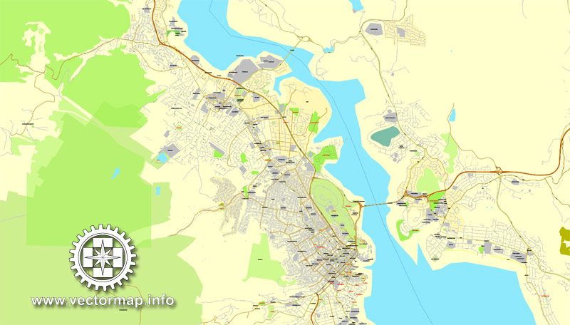 Street map Tasmania Full