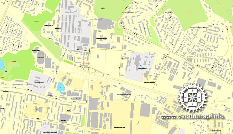 Street map Sevastopol Ukraine PDF