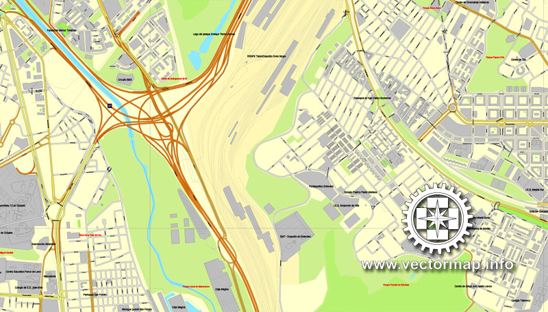 Street map Moscow S2 CDR
