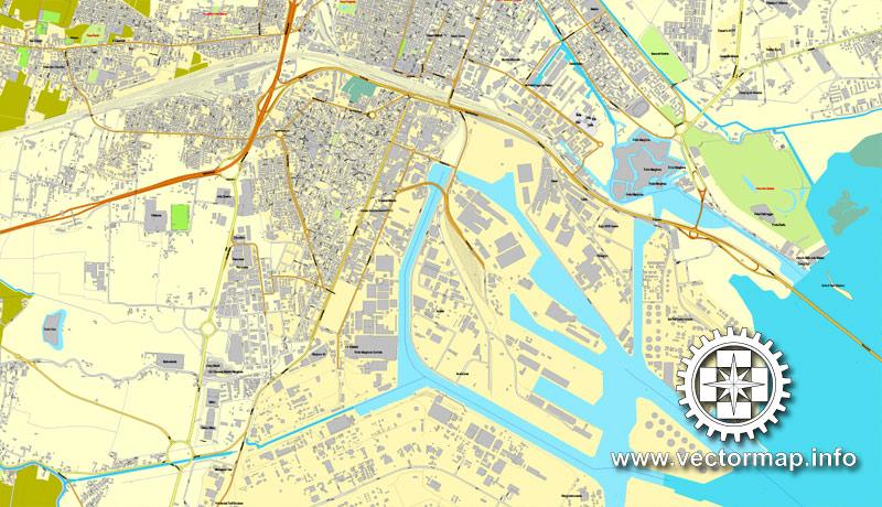 Street map Venice Venezia Italy pdf