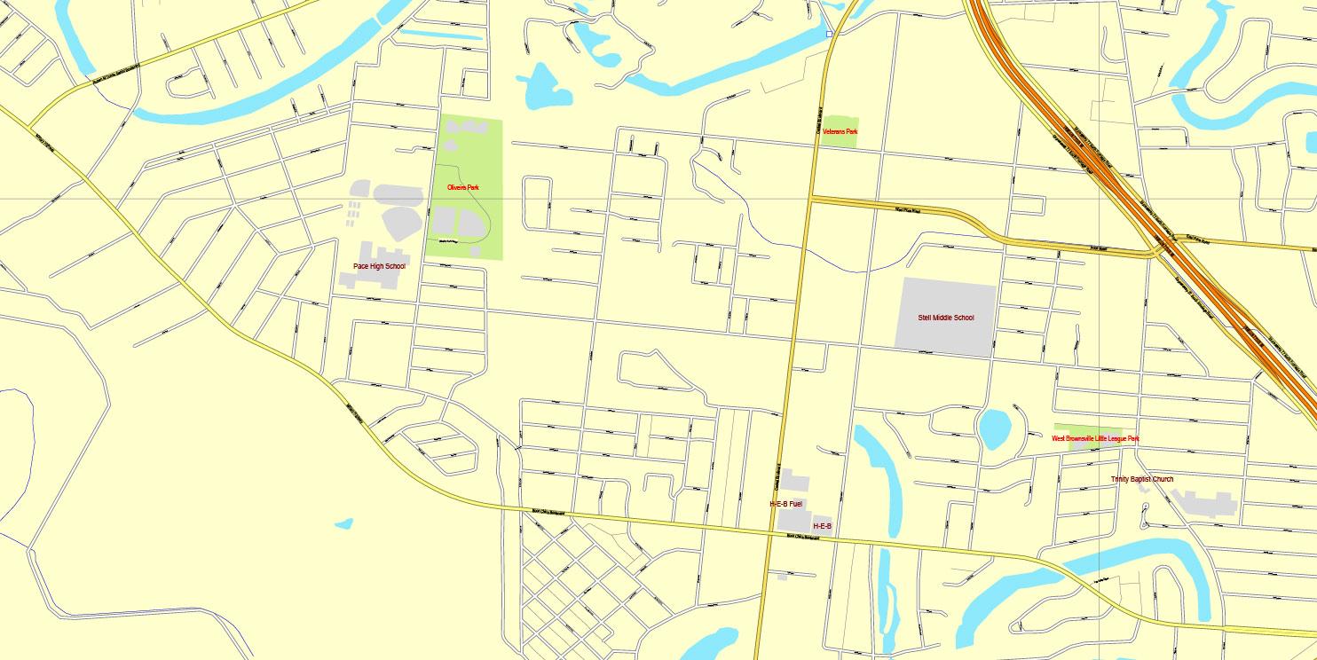 Street map Stavropol pdf