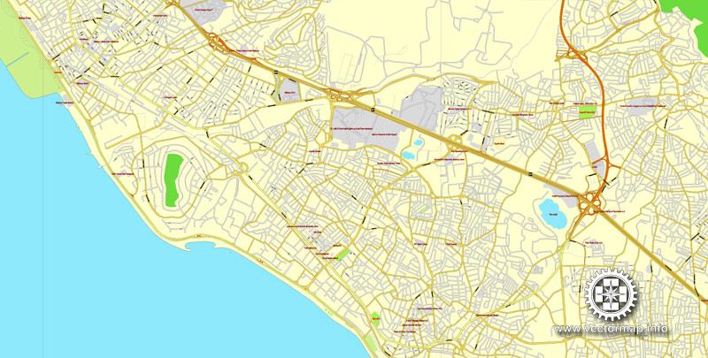 Street map Istanbul Turkey ai