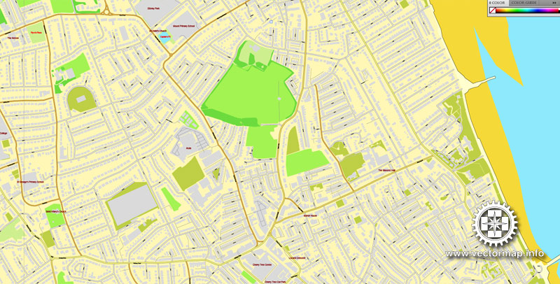 Street map Liverpool UK pdf