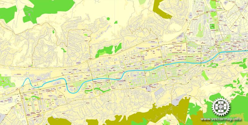 Street map Sarajevo PDF