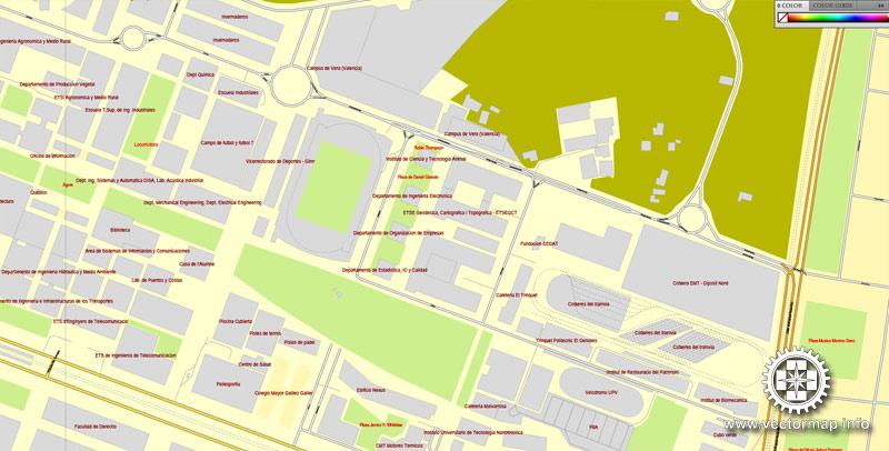 Street map Spain Admin PDF