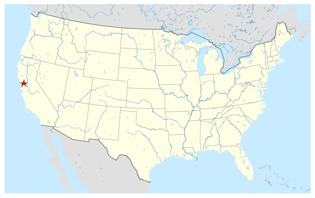Free US map vector Adobe Illustrator
