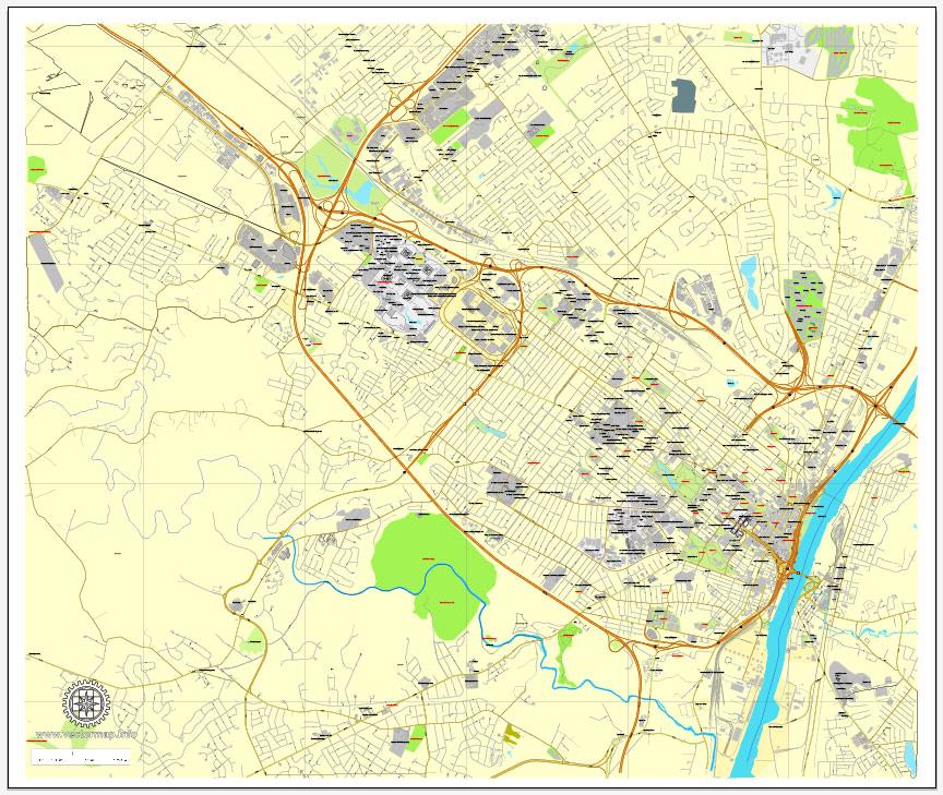Street map Volgograd PDF