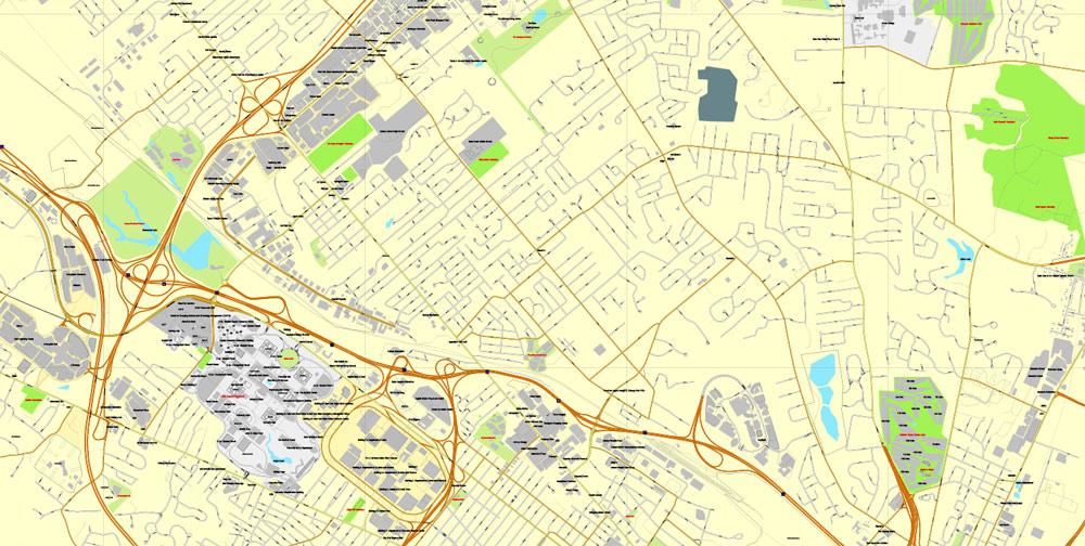 Street map Albany New York PDF