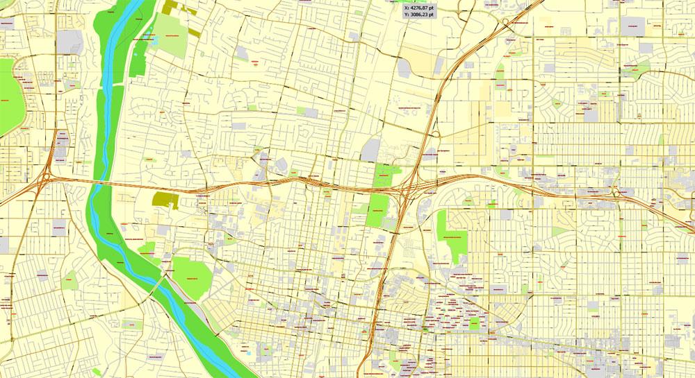 Street map Albuquerque NM PDF