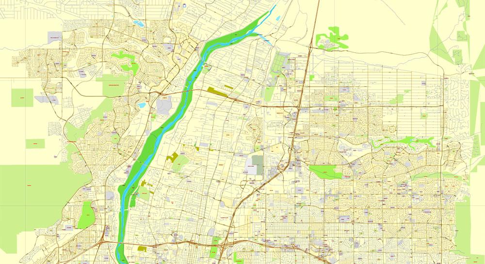 City map Albuquerque New Mexico pdf