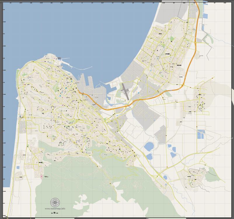 Pdf map Israel