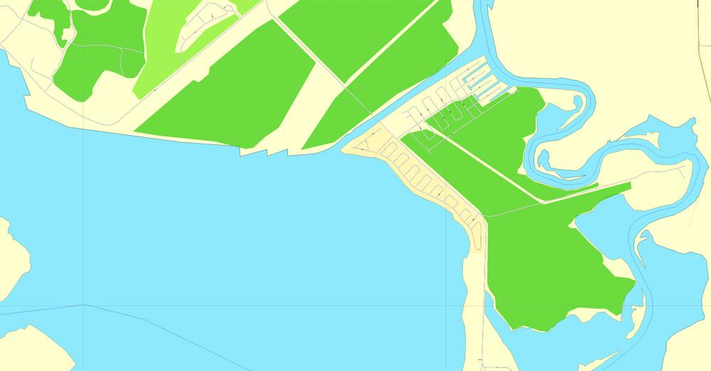 City map La Porte Baytown Texas pdf 15