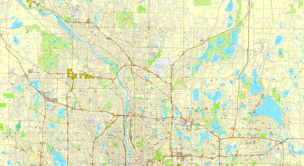 Street map Yaroslavl pdf