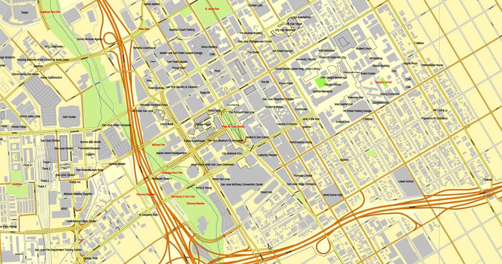 City plan Dominican Republic Detailed a3 AI