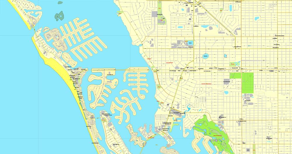 City plan Saint Petersburg Tampa PDF