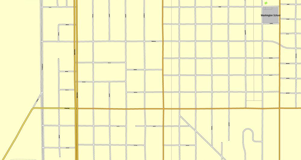 Urban plan Terre Haute Indiana ai