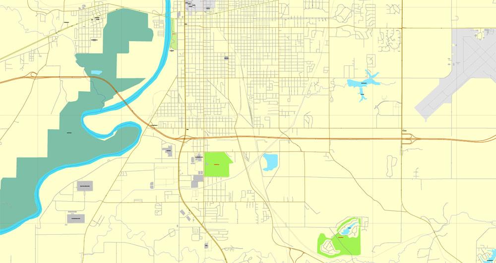Street map Terre Haute Indiana ai