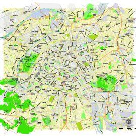 Street map Nice France PDF