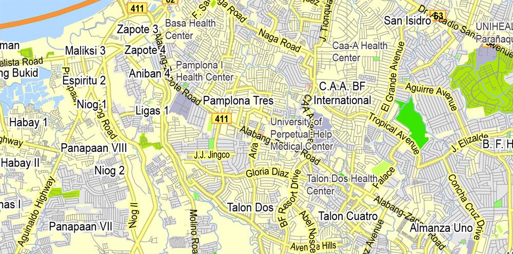 Urban plan Manila Grande Philippines 16 AI