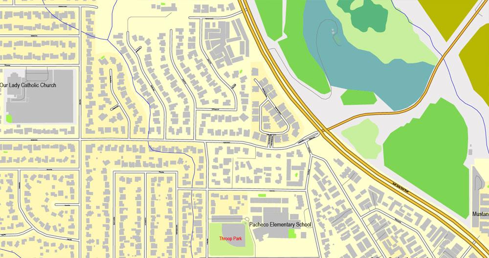 Street map San Luis Obispo California