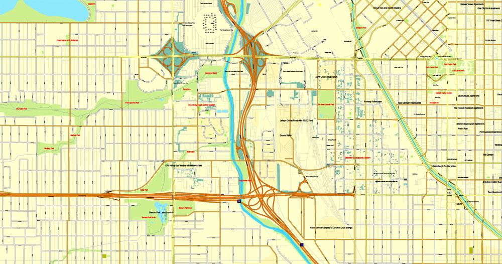 Street map Arkhangelsk PDF