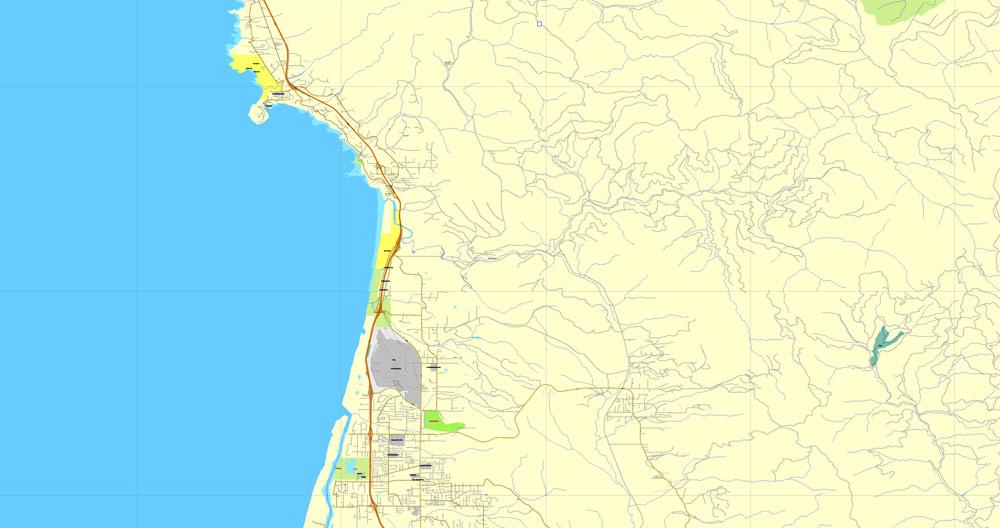 Pdf map Humboldt Eureca California