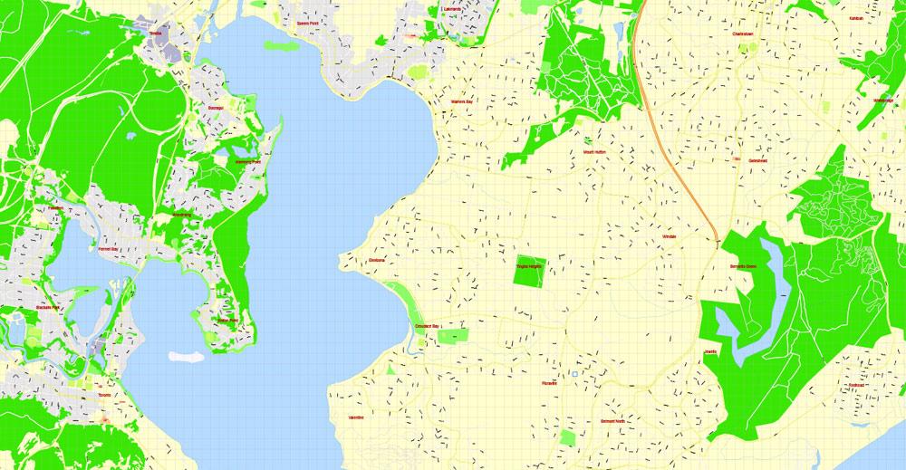 Street map Bendigo Australia PDF 17