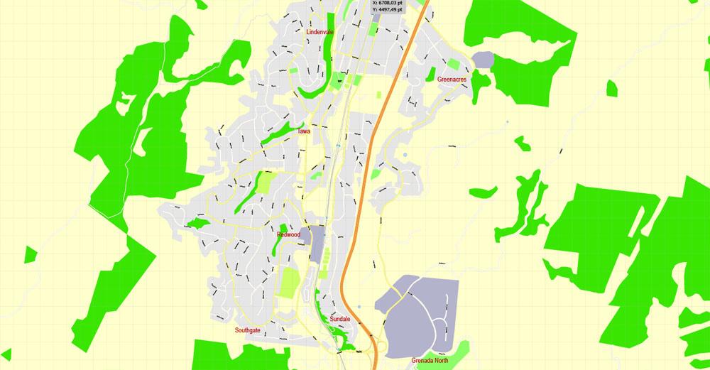 Street map Wellington New Zealand 3 11 Ai