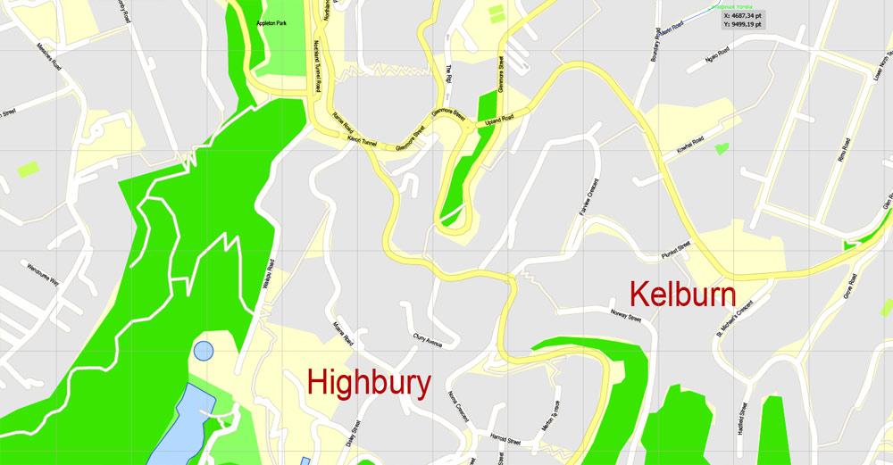 Street map Wellington New Zealand 3 11 PDF