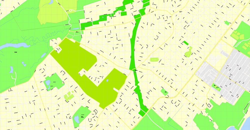 Street map Staten Island New York PDF