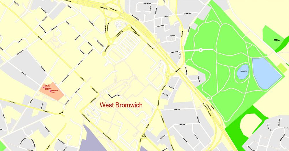 Pdf map Birmingham Alabama PDF