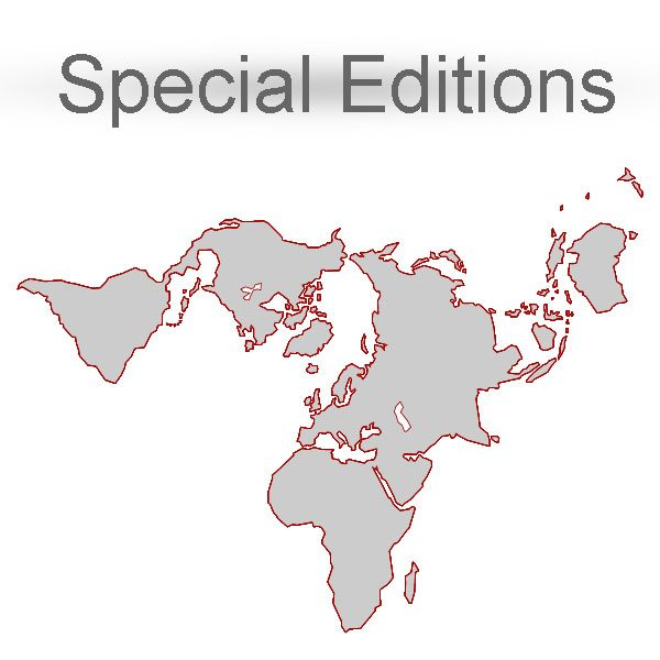 Special edition maps Adobe Illustrator, PDF