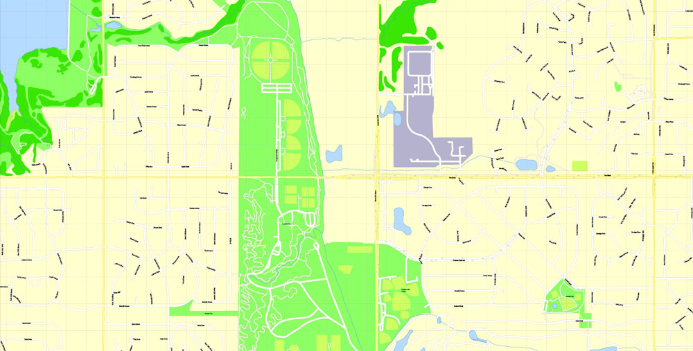 Pdf map Omaha Nebraska