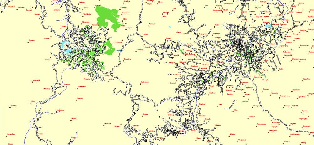 Pdf map Java Indonesia autocad dwg