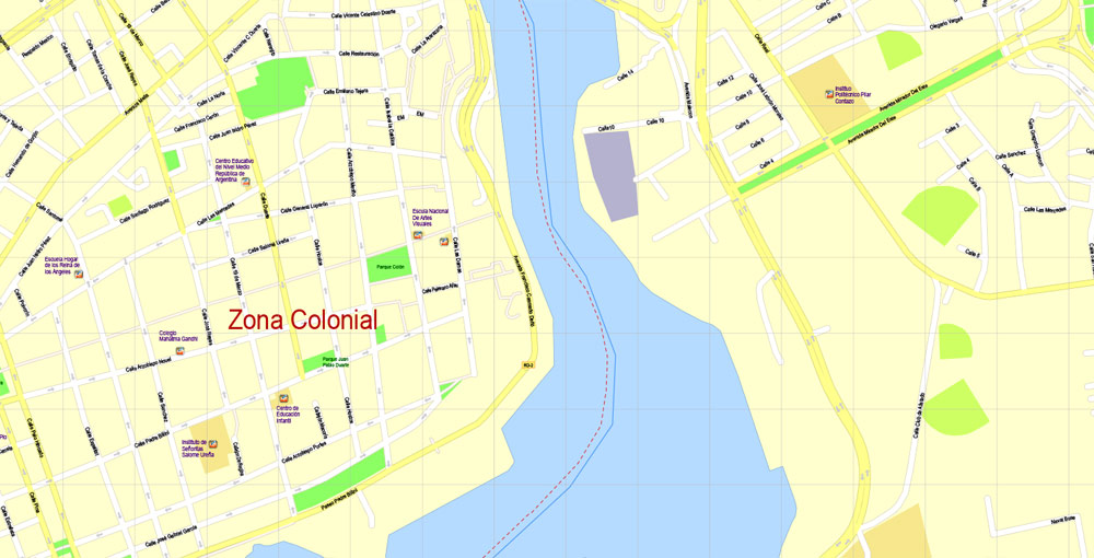 Urban plan Santo Domingo Republica Dominicana PDF