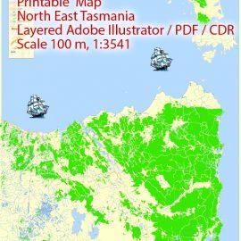 Urban plan North East Tasmania CDR
