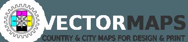 Aarhus, Denmark, printable vector street City Plan map, full editable, Adobe PDF