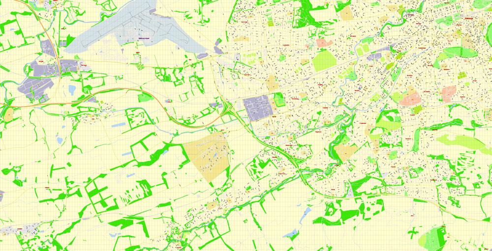 Pdf map Edinburgh