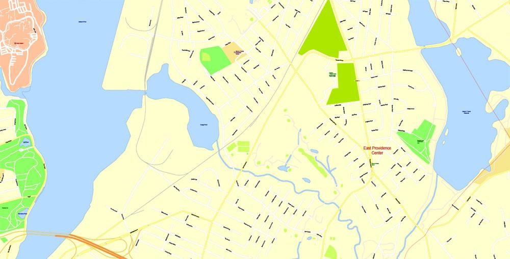 Urban plan Providence Rhode Island PDF AI