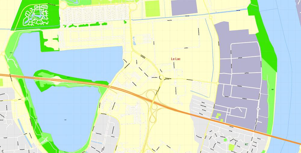 City map Bordeaux PDF