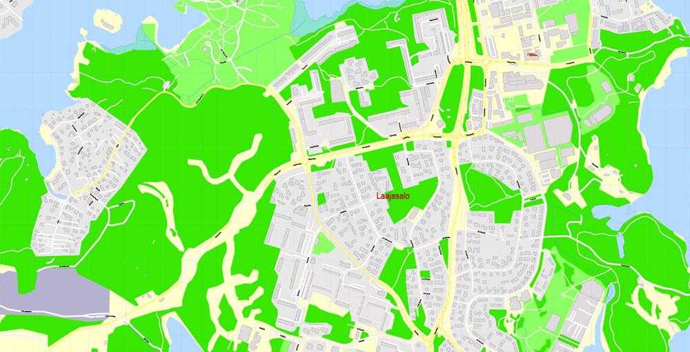 Street map Helsinki PDF
