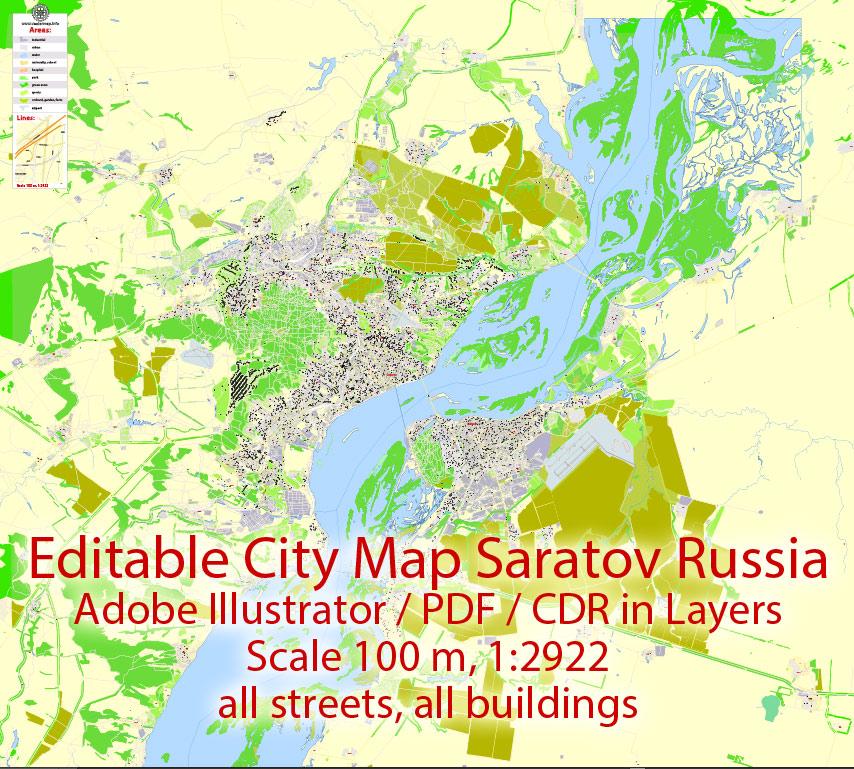 Urban plan Saratov pdf