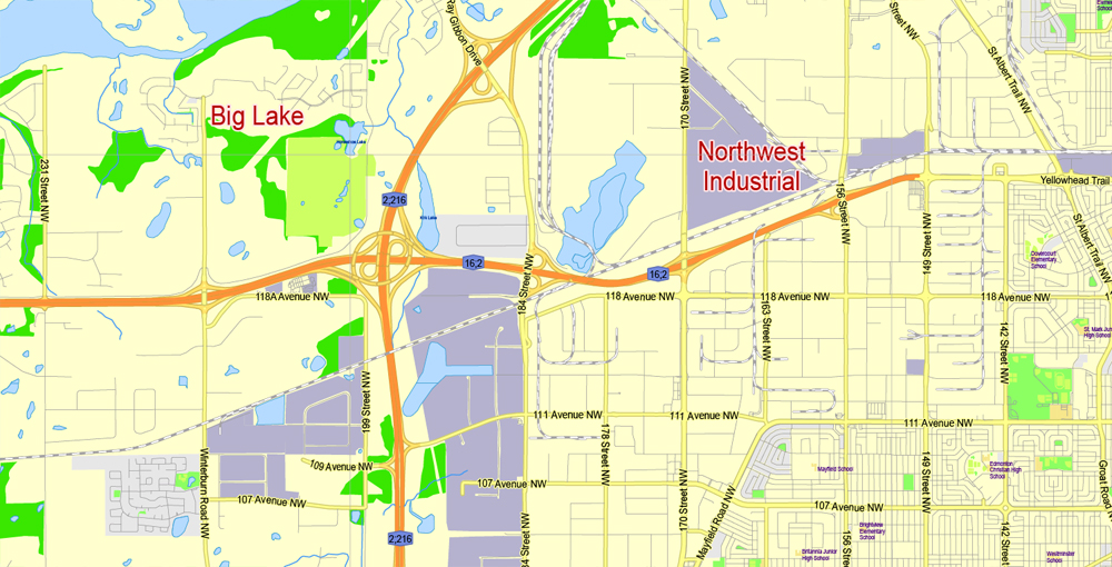 Urban plan Edmonton PDF Canada